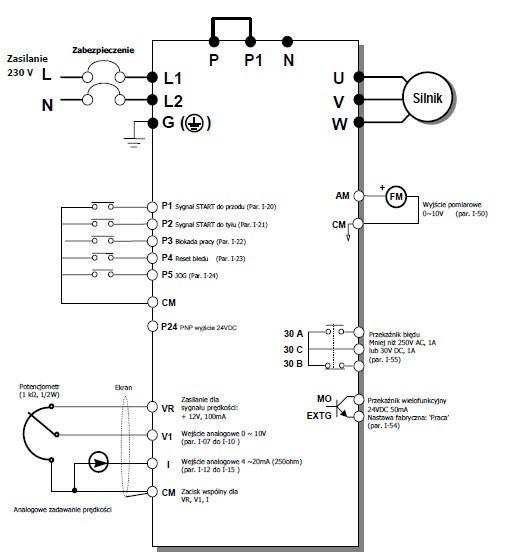 sposób podłączenia ic5